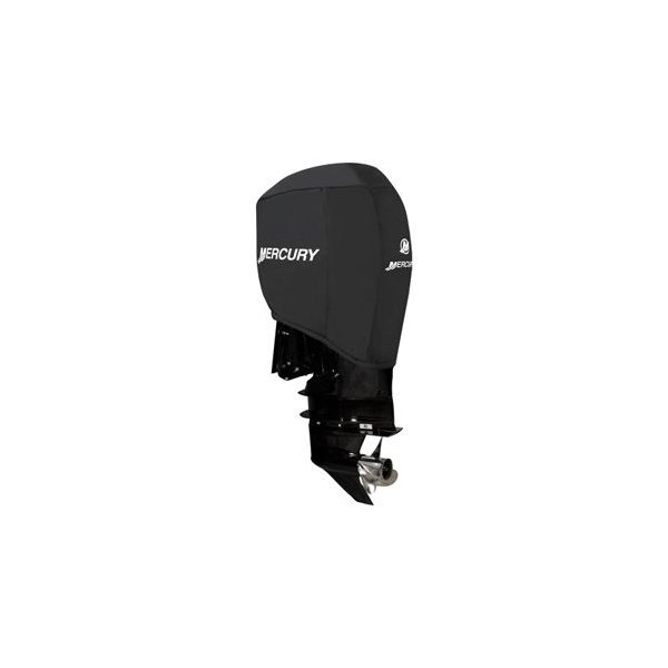 Attwood® 105639 - Mercury 200-300 HP Black Polyester Custom-Fit Motor Cover