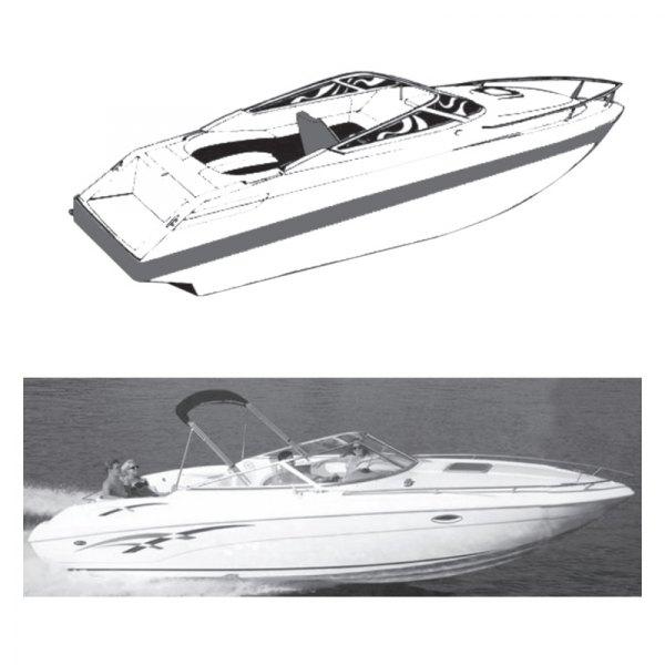 V-Hull Low Profile Cuddy Cabin Boat