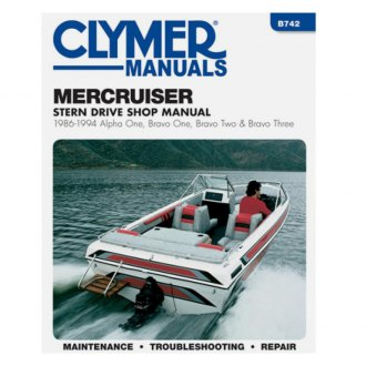 Boat Engine Manuals & Guides | Service & Repair, Reference Cards