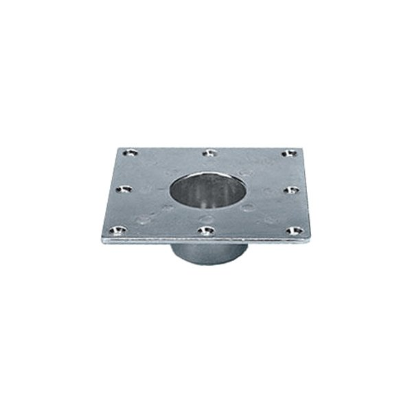 CP Products 48733 Square Recessed Heavy Duty Flush Mount Pedestal Base