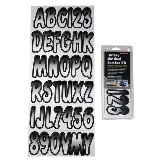 PUTEG200 Purple//Teal Series 200 Hardline Factory Matched Letters /& Numbers