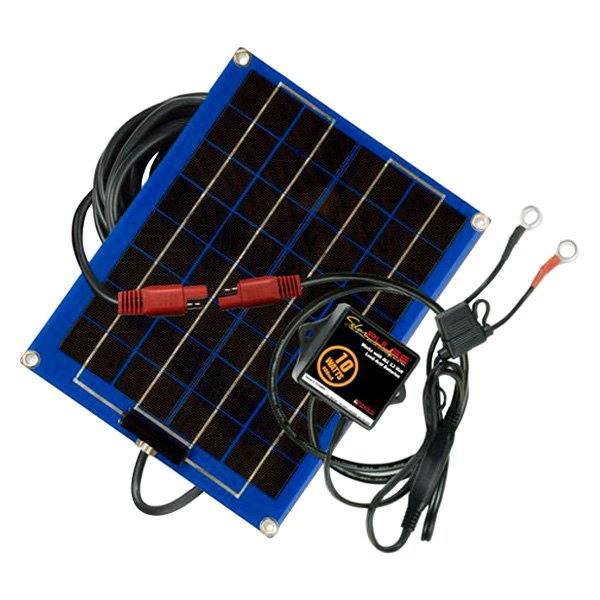 PulseTech® SP-10 - SolarPulse™ 10W 1-Bank Battery Charger/Maintainer