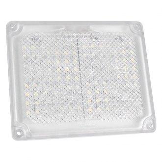 Innovative Lighting Courtesy Light Blue LED//Chrome Case 4 LED Surface Mount