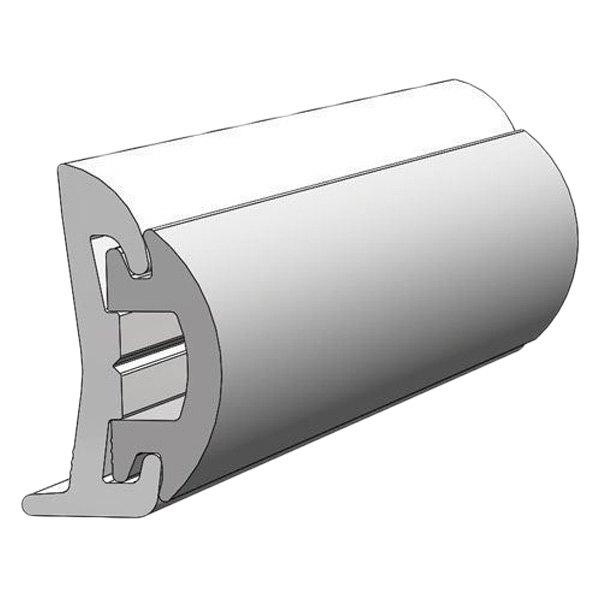Taco V21 9678wha20d 20 L X 1 1 2 H X 5 8 T Arctic White Vinyl Rigid Flexible Insert Rub Rail Boatid Com