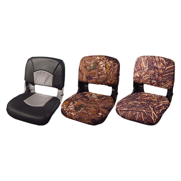 Black Seat//Mossy Oak Break Up Cushion Vinyl TEMPRESS PRODUCTS INC 45622 Tempress All Weather High Back Seat